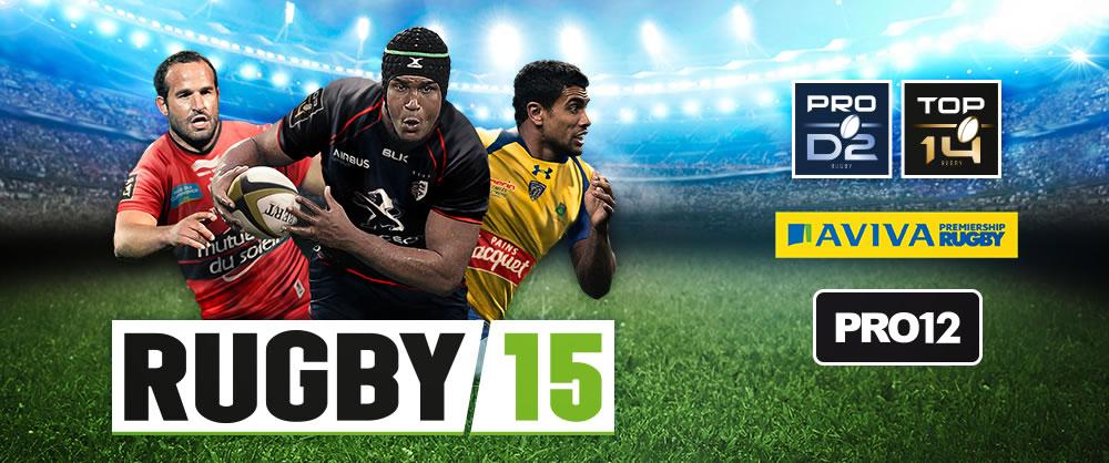 RUGBY 15, l'un des succès jeux vidéo de 2014 pour Bigben Interactive